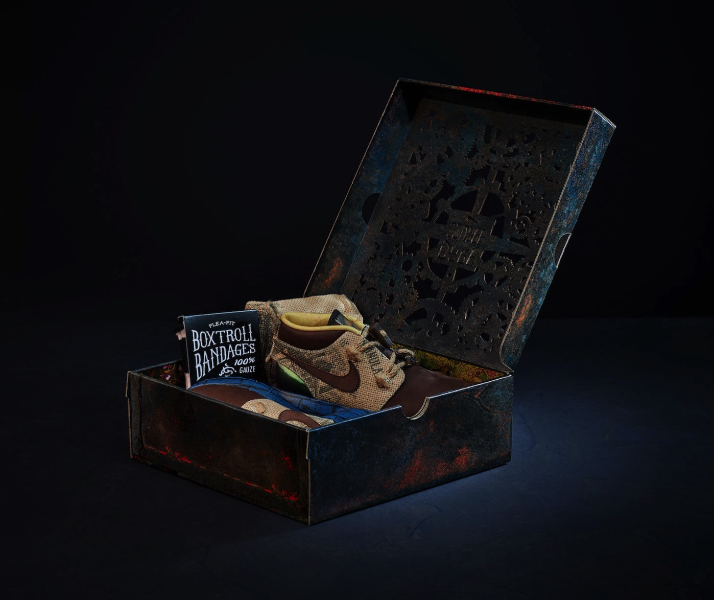 The boxtrolls nike shoe laika 7