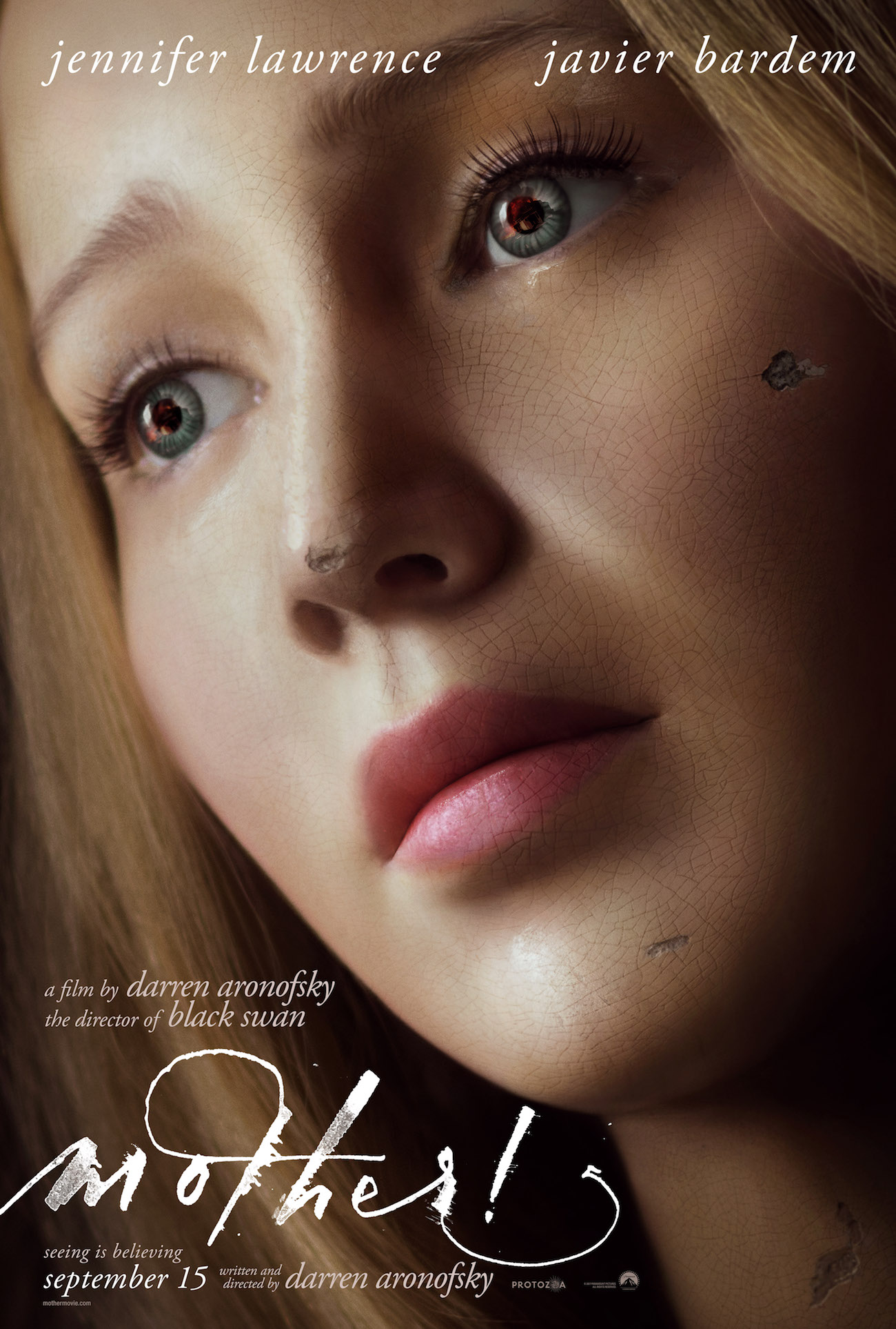 Mother movie poster jennifer lawrence