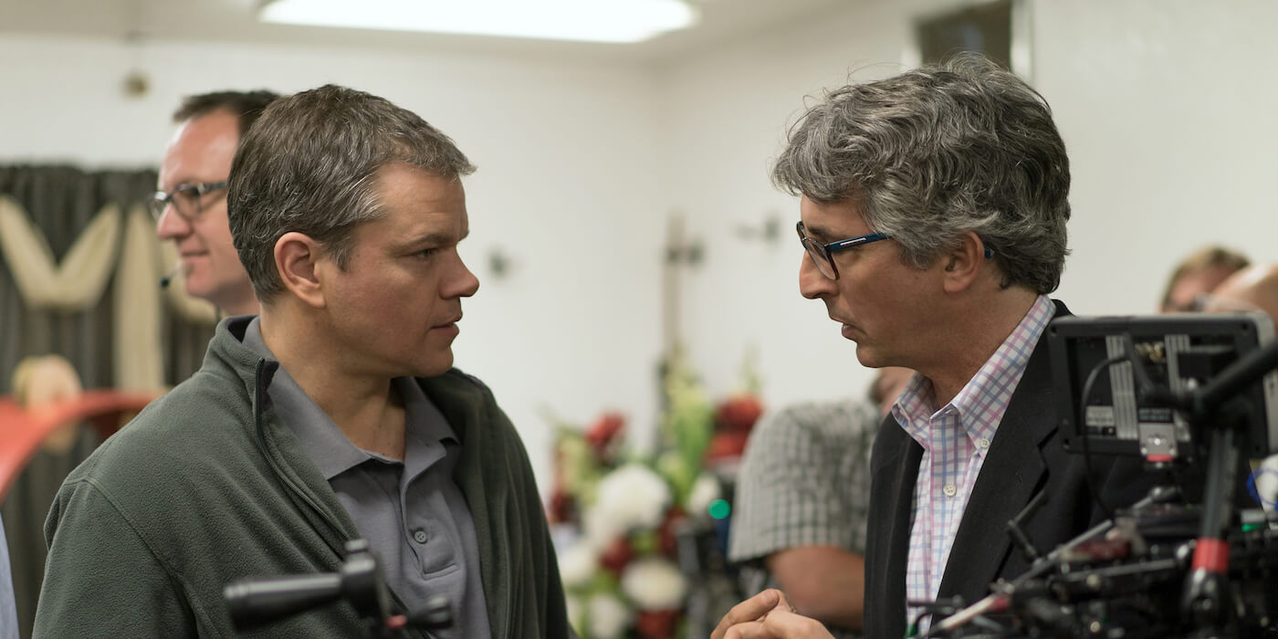 Alexander payne matt damon downsizing set 1